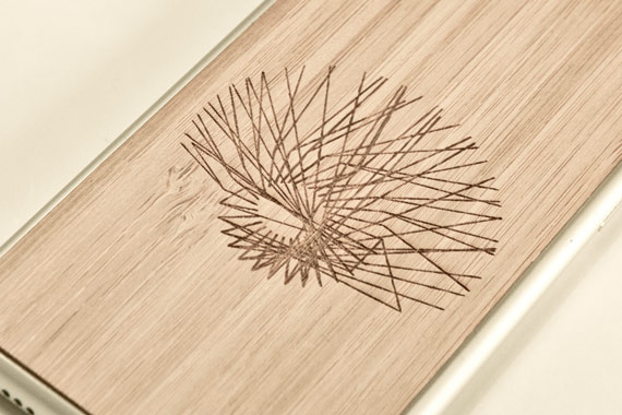 Wooden iphone cover