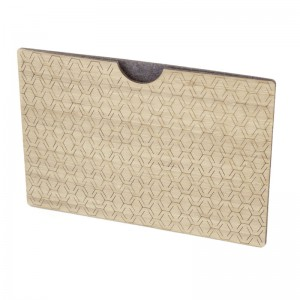 Wooden iPad sleeve