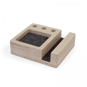 The Smartphone Stand is designed as an everyday organiser.