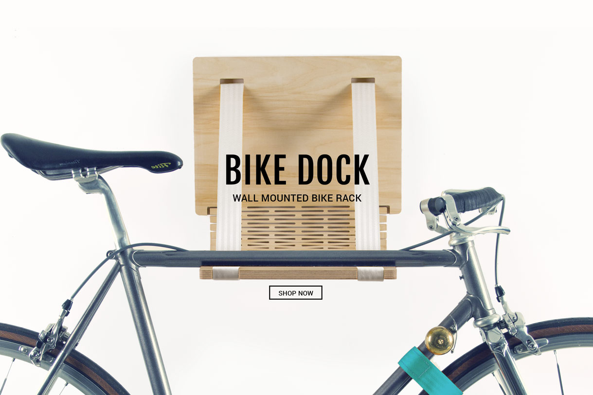 Wooden-indoor-bike-rack